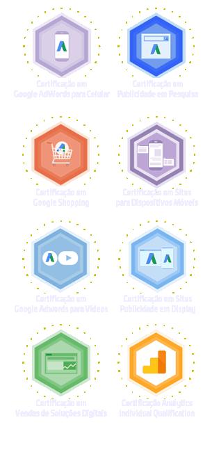 Certificacoes Google - Assessoria Percus